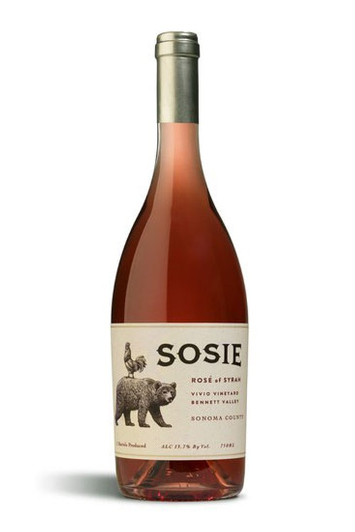 2017 Rose' of Syrah
